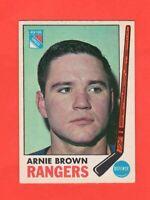 1969-70 OPC  #  34 Arnie Brown exmt