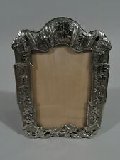 Export Frame - Picture Photo Antique Asian - Chinese Silver - Wang Hing