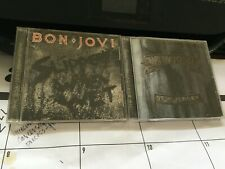 BON JOVI 2 CD LOT: SLIPPERY WHEN WET AND NEW JERSEY REMASTERS