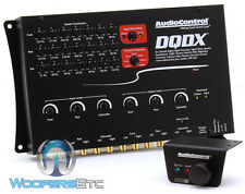 AUDIOCONTROL DQDX BLACK CAR PRO 6-CHANNEL DIGITAL SIGNAL PROCESSOR EQUALIZER