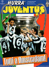 HURRA JUVENTUS=N°5 1998=JUVENTUS-REAL MADRID FINALE CHAMPIONS LEAGUE