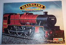 MAINLINE CATALOGUE 1979 WITH PRICE LIST