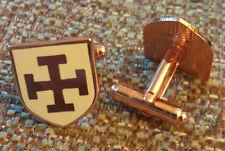 Crusaders Teutonic Knights Order German Cross Cuff Link