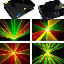 NEW RGY 120mw DMX Laser Light Disco DJ  Stage Party Lighting show equipment proj