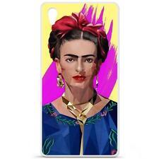 Coque Housse Etui Sony Xperia Z5 à motif Silicone Gel qualité FR - M.I (Frida)