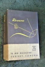 Revere 26 16 mm Magazine Camera box with Instructions and strap