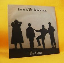 """7"""" Single Vinyl 45 Echo & The Bunnymen The Game 2TR 1987 (MINT) New Wave"""