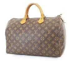 Authentic LOUIS VUITTON Speedy 35 Monogram Boston Handbag Purse #37061