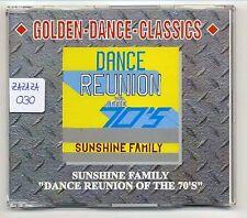 Sunshine Family Maxi-CD Dance Reunion Of The 70's - GDC 2089-8