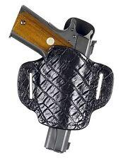 Colt 1911 Alligator Holster black  #77720