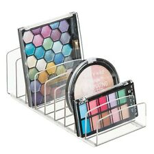 Eyeshadow Palette Organizer Makeup Vanity Cosmetics Storage Holder Clear Plastic