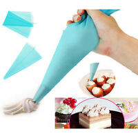 Silicone Crème Réutilisable Pastryicing Bag Sac Piping Cake Decor Tool FE