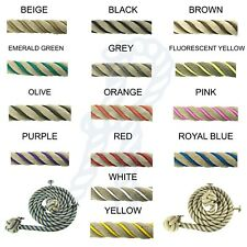 28mm Synthetic Polyhemp Wormed Bannister Rope x 11ft, Choose Your Worming Colour