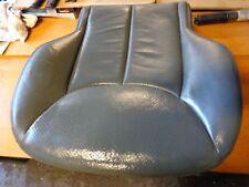 Mercedes R230 SL350 500 leather bottom seat Alpaca grey leather left side n/s