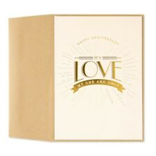 One and Only Anniversary Card (For Spouse) $6.95 Papyrus