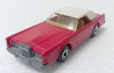 Matchbox Lesney Superfast Lincoln Continental Mk V #28 1979.