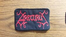 ARCTURUS,SEW ON RED EMBROIDERED PATCH