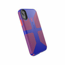 Speck Candyshell Grip iPhone XR Cyber Blue Grapefruit Orange