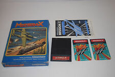 MISSION X Intellivision INTV Game Cartridge COMPLETE In Box Mattel TESTED