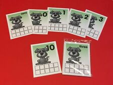 Puppy Tens Frames - Laminated Dry Erase cards - Teaching supplies