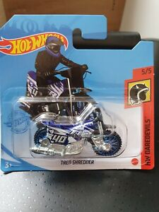 Hot Wheels 2021 Tred Shredder *136/250 HW Daredevils *5/5 GTC92 Treasure Hunt