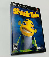 Shark Tale -  Sony Playstation 2 PS2 NO MANUAL Dreamworks Rated E