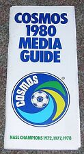 New York Cosmos - 1980 Media Guide / Yearbook - NASL Soccer - Rare - Chinaglia