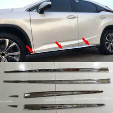 Fits Lexus RX350 450h 200t 350L 450hL Chrome Body Side Door Molding Cover Trim
