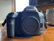 Canon EOS 5D Mark III 22.3MP Digital SLR Camera Black With 2 Batteries & Charger