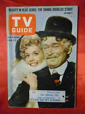 March 9 Philadelphia TV GUIDE 1963 BEVERLY HILLBILLIES Donna Douglas Buddy Ebsen