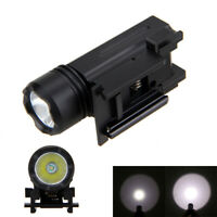 XPG-R5 LED Tactical Pistol Flashlight   3000LM Torch 3 Modes Light C