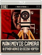 MAN WITH A MOVIE CAMERA di Dziga Vertov 2xBLURAY in Russo NEW .cp