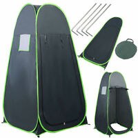 Pop Up Camping Shower Tent Portable Green Outdoor Privacy Toilet Changing Room