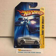Chevy Camaro Concept #2 * Silver * 2007 Hot Wheels * D22
