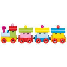 Goki Zug Sofia mit Magnetkupplung Holz 4 teile Spielzeug