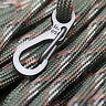 10pcs safe Hiking Climbing Hanging Buckle Snap Clip Hook Keychain ring Carabiner