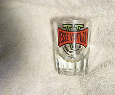 Jesse Ventura Man of Action Minnesota's Governing Body shot glass
