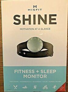 Misfit SHINE Motivation At A Glance Fitness Sleep Monitor Waterproof, Sea Glass