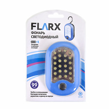 LED Flashlight With Magnetic Holder And Hook 3*AAA Battery (not included)