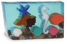 Primal Elements, MARINE LIFE Seaside Large Hand-cut 7.0+ oz Glycerin Soap Bar