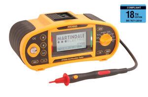 Martindale ET4500 Downloading Multifunction tester - 2 Year Warranty