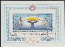 SAN MARINO:1984 Olympic Games ,Los Angeles Min Sheet SGMS1128 fine used
