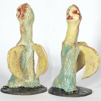 "Skulptur ""Engel""  26cm Unikat Keramik Andreas Loeschner-Gornau"