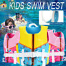 Child Kids Swim Floatation Vest Life Jacket Safety Swimming Buoyancy Float Aid