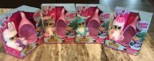 FUR BABIES WORLD DREAMSTARS Complete Set 4 MOVE MY EARS & EYES, NEW