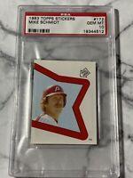 1983 Topps Sticker Mike Schmidt All Star PSA 10 Card #172 Philadelphia Phillies