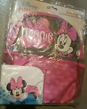 Disney Baby Minnie Mouse Kids Harness Backpack New