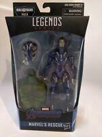 """Marvel Legends Series Avengers Marvel's Rescue Action Figure Toy 6"""" + BAF Hulk"""