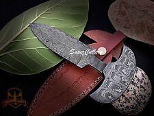 Custom handmade Full Damascus steel beautiful dagger Knife hand Steel Bolster
