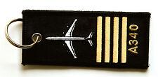 Rang Pilot A340 Schlüsselanhänger NEU 340 Rangabzeichen Keyring Anhänger